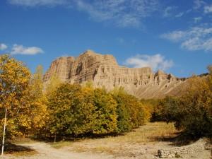 پاییز باشکوه مسیر خمده به انزاها