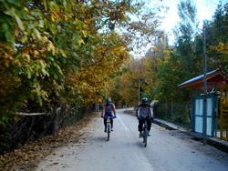 دوچرخه سواری خمده به انزاها