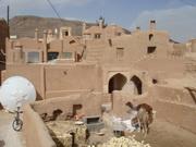 نمای روستای کویری