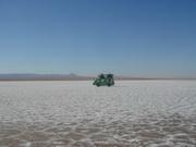دریاچه زیبای نمک طبس