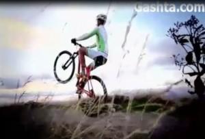 تک چرخ زدن با دوچرخه کوهستان