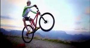 تکنیک تک چرخ زدن بدون رکاب زدن