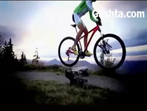 فیلم آموزش پرش با دوچرخه کوهستان