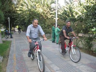 ترافیک و دوچرخه