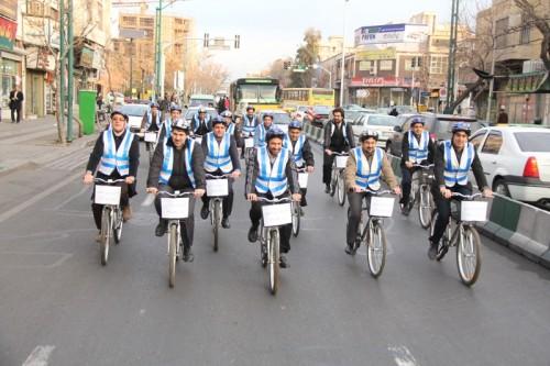 دوچرخه شهری وکلان شهر تهران
