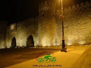 دیوارهای ایچری شهر باکو