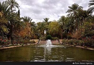 باغ گلشن زیبای طبس
