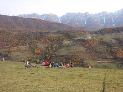کوه چکل و دور نمای زیبایش