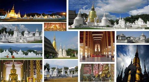 معابد باشکوه تایلند