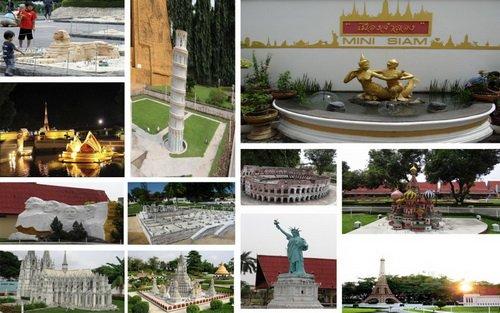 پارک منیاتور اماکن تاریخی دنیا از جمله تخت جمشید